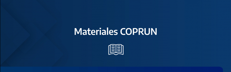 Materiales digitales COPRUN 2021